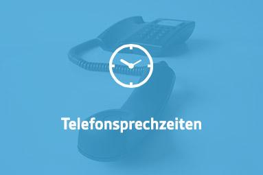 Telefonsprechzeiten